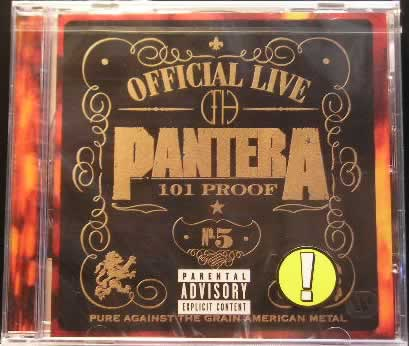 Pantera - Official Live 101:Proof
