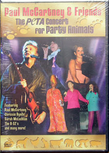 DVD THE PETA CONCERT FOR PARTY