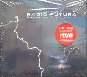 Radio Futura - Lo Mejor,  Paisajes Electricos -2CD+DVD