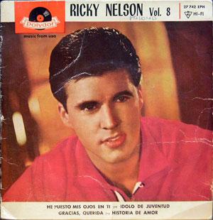 Ricky Nelson - Vol 8 - He Puesto Mis Ojos En Ti