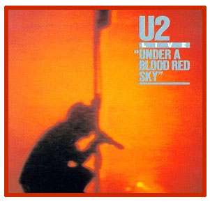 U2 - Live ,Under A Blood Red Sky,LP