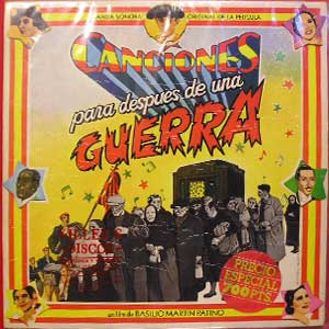 Canciones Para Después De Una Guerra - BSO, LP