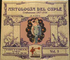 Antología Del Cuplé - 2CD
