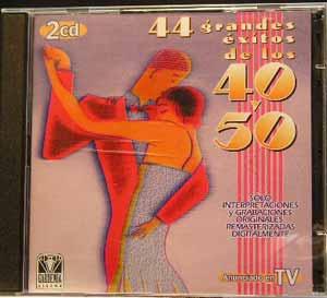 44 Éxitos De Los 40 y 50 -  Varios Artistas.