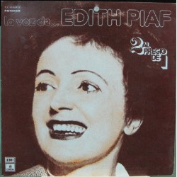 Edith Piaf - La Voz, 2Lp  Recopilatorio