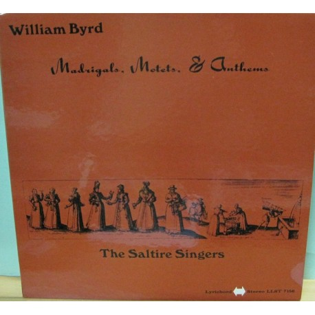 Willian Byrd - Madrigals.Motets,& Anthems, LP