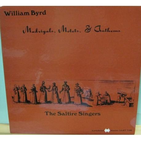 William Byrd - Madrigals.Motets,& Anthems, LP