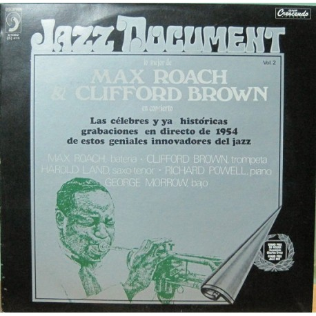 Max Roach & Clifford Brown - Jazz Document
