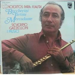 """Severino Gazzelloni, I Musici, LP 12"""" - Conciertos Para Flauta"""