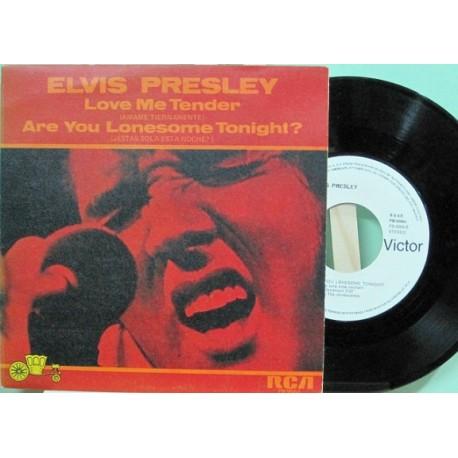 """Elvis Presley - Love Me Tender, 7"""" - Promocional"""
