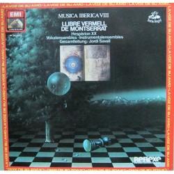 """Jordi Savall - Llibre Vermell De Montserrat - LP 12"""" - Hesperion XX"""