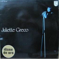 Juliette Greco - Disco De Oro