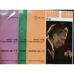 """Mario Rossi - Vivaldi / L´estro Armónico, op3 - LP 12""""X 3"""