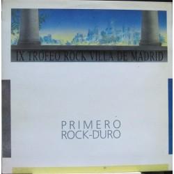 "Polvo Magico - IX Trofeo Rock Villa De Madrid - Primero Rock Duro - Maxi 12"""
