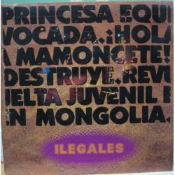 """Ilegales - 7"""" 4 Temas De Su Álbum En Vivo"""