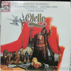 "Placido Domingo - Otello, LP 12"" Promocional"