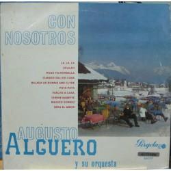 """Augusto Algueró y Su Orquesta - Con Nosotros - LP 10"""""""