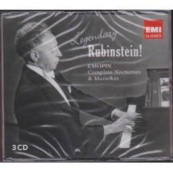 Rubinstein - Chopin, Nocturnos y Mazurkas. 3CD