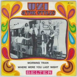 Uzi & The Styles - Morning train, Mod Psych Freakbeat 45PS