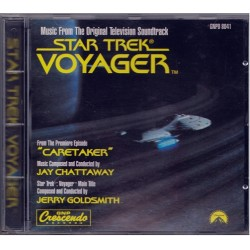 Jay Chattaway & Jerry Goldsmith ‎Star Trek: Voyager CD