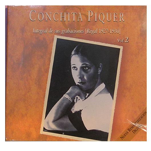 Conchita Piquer - Integral de sus Grabaciones Vol2