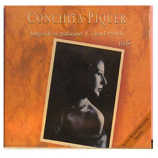 Conchita Piquer - Integral de sus Grabaciones La Voz de su Amo,  Vol 6  (1944-1950)