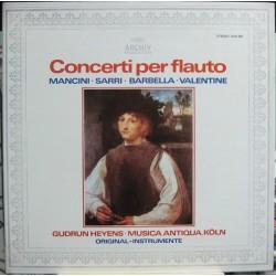 Gudrun Heyens - Musica Antiqua, Koln. Concerti Per Flauto.