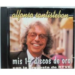 Alfonso Santisteban - Mis 14 Discos De Oro.