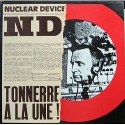Nuclear Device - Tonnerre A La Une