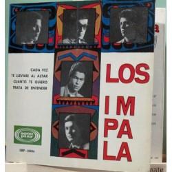 """Los Impala - Cada Vez. EP.7"""" 4 Temas"""