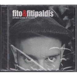 Fito & Fitipaldis - Lo Mas Lejos a Tu  Lado. CD