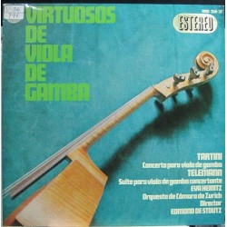 Teleman, Tartini. - Virtuosos De Viola De Gamba.