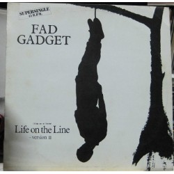 Fad Gadget - Life On The Line.