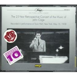 John Cage - The 25 Year Retrospective Concert