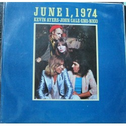 Kevin Ayers-John Cale-Eno-Nico  - June 1,1974.