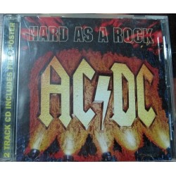 AC/DC - Hard As a Rock. +Poster