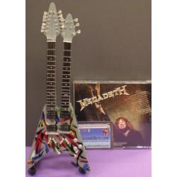 Guitarra de Doble Mástil Megadeth