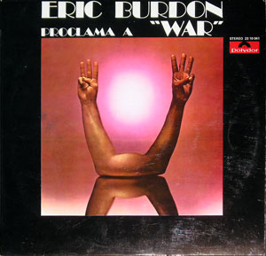 ERIC BURDON PROCLAMA WAR