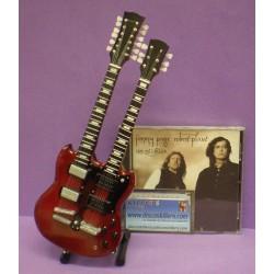Guitarra Doble Mástil de Jimmy Page (Led Zeppelin)