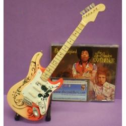 Guitarra Jimi Hendrix - Blanca