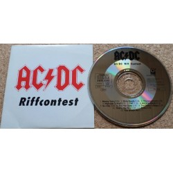 AC/DC - Riffcontest. CD Single.(Promo pm 1143 Germany) muy Raro +++
