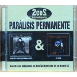 Paralisis Permanente - El Acto + Singles Primeras Grabaciones. CD Limitado