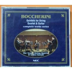 Boccherini - Quintet For String, Quartet & Guitar.