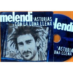 Melendi - Asturias. CD Single Promocional.