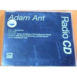 Adam Ant - Wonderful.