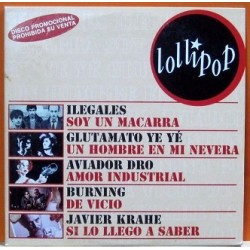 CD Single Promocional - Ilegales, Burning, Aviador Dro, Glutamato Ye Ye, J.Krahe