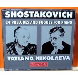 Shostakovich - Tatiana Nikolaeva. 24 Preludes And Fugues For Piano.
