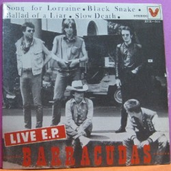 Barracudas - Live E.P.