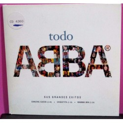 ABBA - CD Single Promocional Con 3 Temas.