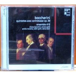 Boccherini - Quintettes Avec Contrebasse Op. 39